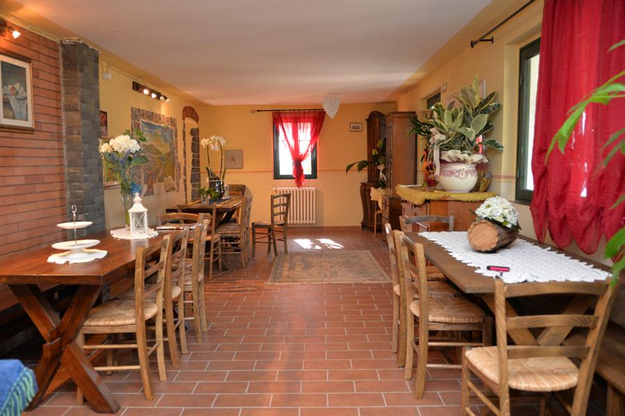 Sala Ristorazione - Agriturismo Campo Fiorito - Via Dei Rocchi 190, 51015 - Monsummano Terme (PT) - Toscana - Italia