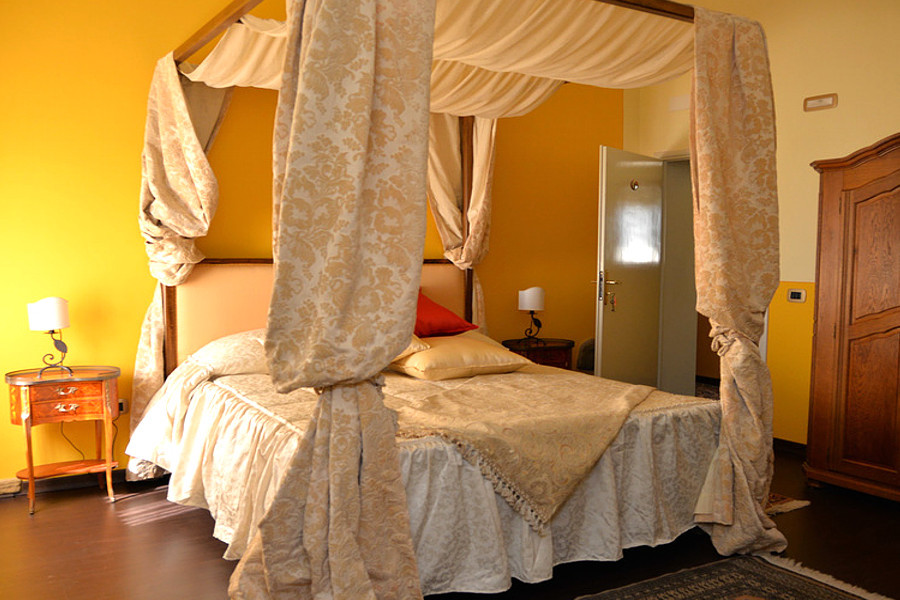 Agriturismo Campo Fiorito - Camera da Letto Matrimoniale - Camera Rosa - Agriturismo Campo Fiorito - Via Dei Rocchi 190, 51015 - Monsummano Terme (PT) - Toscana - Italia